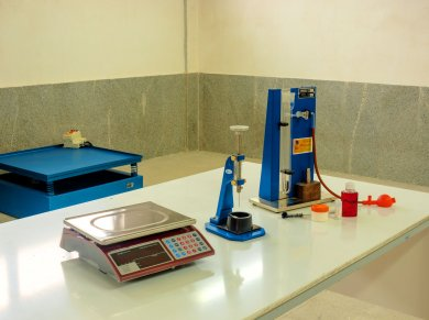 Laboratory of Concrete and Building Materials